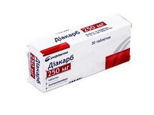 Препарат Ацетазоламид