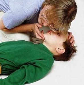 Потеря сознания ребенком