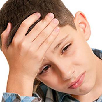 Проявление симптомов у детей