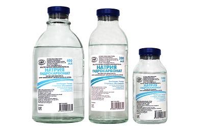 Натрия гидрокарбонат