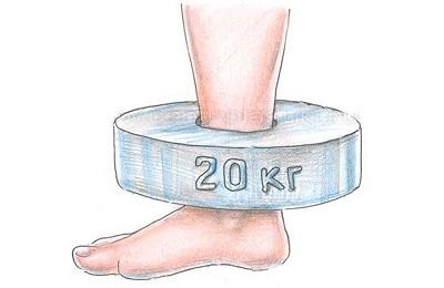 Тяжесть в ногах