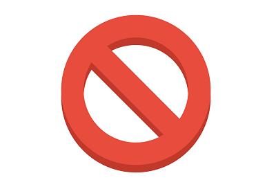 Знак запрета