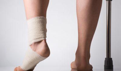 Болит нога в бинте