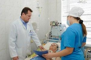 Этап госпитализации больного