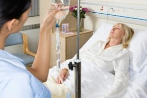 Пациентка с недавно перенесенным инсультом