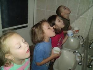 Полоскания полости рта