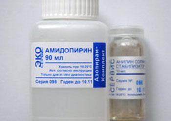 Применение Амидопирина