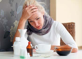 Обычная простуда