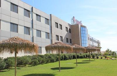 Территория клиники