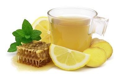 Лимон мед имбирь