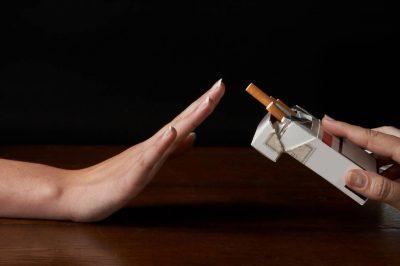 Предлагают сигарету