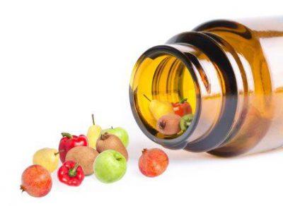 Витамины в бутылке