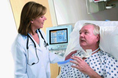 Пациент на кушетке