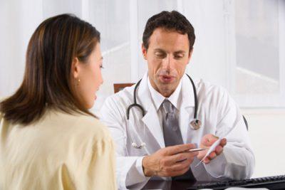 В кабинете у врача