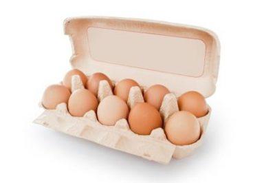 Яйца в коробке